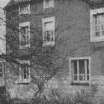 1955, vue des bâtiments du Moulin Bleu