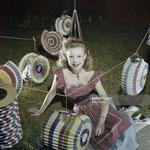 Cécile Aubry au bal du 14 juillet 1950 © gettyimages