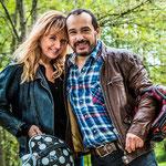 Mehdi et sa femme Virginie Stevenoot © gala.fr