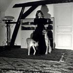 En 1950 dans le grenier du Moulin Bleu