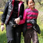 Véronique Jannot et sa filleule Migmar