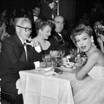 Avec Micheline Presle en 1950 © parisienne de photographie
