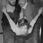 Avec René Sauvaire et Henri Allaume © ebay