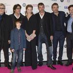 Tchéky Karyo (César), Christian Duguay (réalisateur), Félix Bossuet (Sébastien), Margaux Chatelier (Angelina), Thierry Neuvic (Pierre), Gilles Legrand (producteur) et Matthieu Warter (producteur)