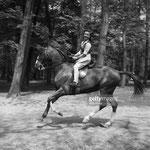 En mai 1950, au bois de Boulogne de Paris