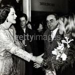 L'actrice Maria Montez, Henri-Georges Clouzot et Cécile Aubry