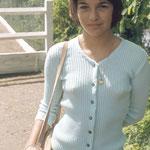 30 septembre 1973: une des toutes premières séances photo de Véronique Jannot
