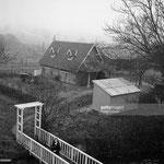 1955, vue des bâtiments du Moulin Bleu © gettyimages