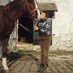 En novembre 1965, Mehdi et un cheval © gettyimages