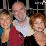 Véronique Jannot, Jean-Pierre Marielle et Agathe Natanson