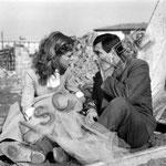 Cécile Aubry et Renato Rascel dans Piovuto dal cielo © fotoafe.it Solo Noleggio