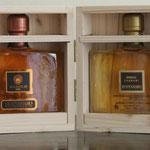 Montanaro Libretto: 2 elegant bottles in wooden case - Barolo 1994 & Barolo Cannubi (Nebbiolo) 0.4 ltr / 44%