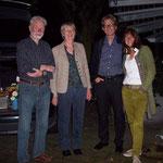 Peter, Hanna, Axel und Martina Dunkel