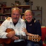 Das Duo Paul und Karin