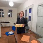 Elisabeths erste Einsatz als Wahlhelferin im Rahmen einer Erlebnis-Lesung :-)