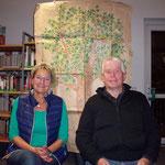 Im Vordergrund: Anke und Norbert