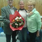 von links nach rechts: Klaus Meyers, Karin Schmitt und Karin Schmidt - ein wahres Namens-Spektakel ;-)