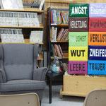 Gemütlich ist es in der Gemeindebücherei Nauheim :-)