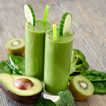 Avocado-Kiwi Smoothie, Gesund & Lecker