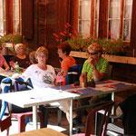 Mittagessen im Gasthof Steinbock in Selden
