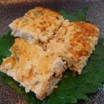 擬製豆腐 エネルギー;70㌔㌍  タンパク質;3.5㌘  塩分;0.5㌘