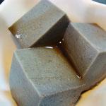 黒ゴマプリン エネルギー;76㌔㌍  タンパク質;2.2㌘  塩分;0㌘