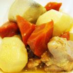 里芋の煮物 エネルギー;106㌔㌍  タンパク質;4.8㌘  塩分;0.8㌘