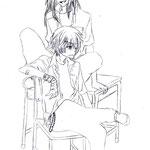 【Reiku & Makkura】 by xCloudy