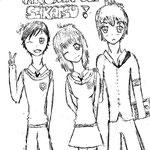 【Senji,Nezumi et Makkura】by Lovys