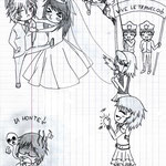 【Makkura, Reiku,Twins,Kana, Nezumi & Kaori】by xCloudy