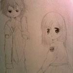 【Makkura & Nezumi】 by kawaiikumiss