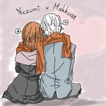 【Nezumi x Makkura】 by Mathis3