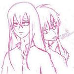 【Reiku & Makkura】 by mooney
