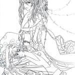 【Hamane & Makkura】 by xCloudy