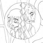 【Nezumi & Makkura】 by MlleSmile