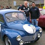 La 4 cv Le Mans, engagée par Michelin - pilotée par l'équipage Oziol – Fonlupt - s'est imposée en 1951 dans l'épreuve mancelle.