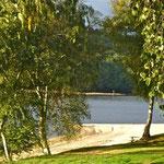 Le lac est alimenté par la Maulde, un affluent de la Vienne.