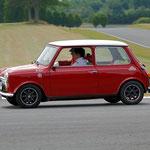 La Mini Cooper Monte-Carlo de Muriel et Nicolas Guyot en route vers le podium du Creusekistan Classic 2014.