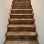 Мраморная лестница. Мрамор Имперадор Лайт.