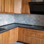 Кухонная столешница из кварцевого агломерата от компании Цезарь Стоне.