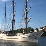 """Besuch der 3-Mast-Bark """"ARTEMIS"""" aus Holland"""