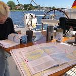 Törnplanung für die 62 sm nach Stralsund