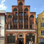 Eines der ältesten Häuser in Stralsund