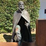 Caspar-David Friedrich-Denkmal. Wir machten eine Führung mit. Auf den Spuren von CDF. Empfehlenswert