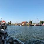 Der kleine wunderschöne Fischerhafen von Frees. Nur ein paar Meilen von Kröslin entfernt. Hier hatten wir leider keine Anlegemöglichkeiten