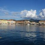 Portoferraio erreicht - ein schöner Anblick