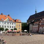 Der große Marktplatz von Stralsund