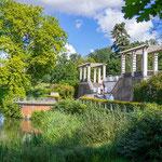 Ehemalige Pergola im Schlosspark von Putbus