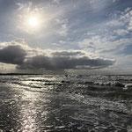 Beeindruckendes Licht und Wolkenspiel