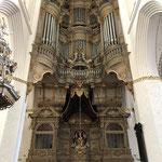 Die riesige Barock-Orgel der Marienkirche - beeindruckend